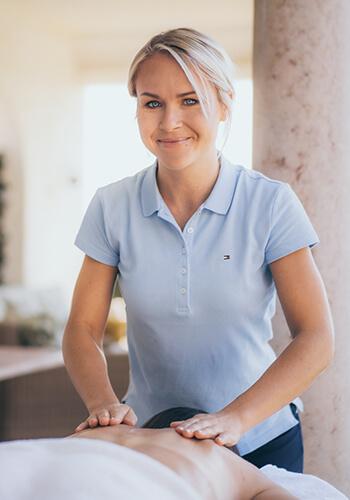 Sini Kolehmainen - Founder of Marbella Massages